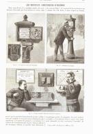 LES NOUVEAUX AVERTISSEURS  D'INCENDIE  1893 - Firemen