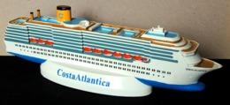 MARINE Ancienne Maquette Paquebot COSTA ALTANTICA De Holiday Int'l Inc En Résine - Boats