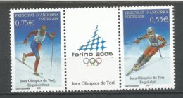 ANDORRE 2006 N° 622 623 LOT DE 2TP NEUFS** - French Andorra