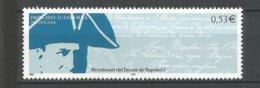 ANDORRE 2006 N° 625 NEUFS** - French Andorra