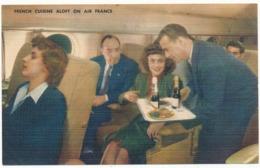 AIR FRANCE - French Cuisine Aloft On Air France - Aviation