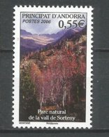ANDORRE 2006 N° 628 NEUFS** - French Andorra