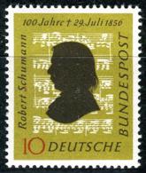 BRD - Mi 234 - ** Postfrisch (A) - 10Pf     Robert Schumann - Unused Stamps