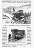 """CHEMINS DE FER  De BRUXELLES à NAMUR  """" LA CATASTROPHE DE GROENENDAEL En BELGIQUE """"   1889 (2) - Cultural"""