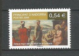ANDORRE 2006 N° 632 NEUFS** - Andorra Francese