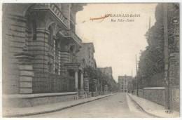 95 - ENGHIEN-LES-BAINS - Rue Félix-Faure - ELD - Enghien Les Bains