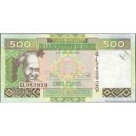 TWN - GUINEA 47 - 500 Francs 2015 Prefix QL UNC - Guinee