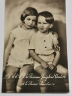 L. À. R. La Princesse Josephine Charlotte Et Le Prince Baudouin - Grand-Ducal Family