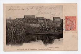 - CPA AMPANALANA (Madagascar) - Pirogues Sur La Lagune 1905 - Edition Froelich N° 17 - - Madagascar