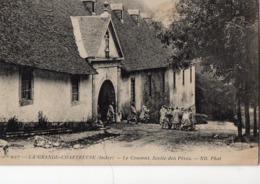 LA GRANDE-CHARTREUSE  Le Couvent  Sortie Des Pères - France
