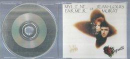 "CD  MYLENE FARMER & JEAN LOUIS MURAT  "" REGRETS  "" Maxi CD Boitier - Musik & Instrumente"