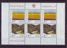 PORTUGAL - 1977 - Mini Feuilles EUROPA YT N° 1340/1341 - Neufs ** - Unused Stamps
