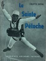 LA SAINTE PETOCHE PAR COLETTE DUVAL PARACHUTISME SPORTIF PARA SAUT PARACHUTISTE - Parachutting