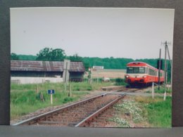 Autorail EAD à Brecy Ter Laroche Autun Le 04 Juillet 1994 Photo F Borelle - Trains