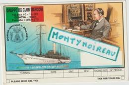 Vieux  Papier  :  Carte  QSL : Gruppo Dx Club Marconi , Genova-italy  Pour  Tinchebray  Orne - Oude Documenten