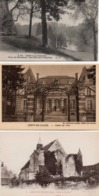 CPA 60 Oise Crépy En Valois Eglise Bouillant Hôtel Ville Parc Geresmes - Crepy En Valois