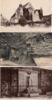 CPA 60 Oise Crépy En Valois Eglise Bouillant Monument Morts Sentier Marennes - Crepy En Valois