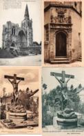CPA 60 Oise Crépy En Valois Ruines Eglise St Thomas Cimetière Bouillant Porte Escalier Maison Rose - Crepy En Valois