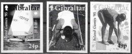 Gibilterra/Gibraltar: Prova Fotografica, Photographic Proof, Preuves Photographiques, Giochi Delle Isole, îles Jeux, Isl - Francobolli