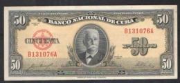 CUBA 50 PESO   1958 - Cuba