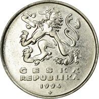 Monnaie, République Tchèque, 5 Korun, 1994, TTB, Nickel Plated Steel, KM:8 - Repubblica Ceca