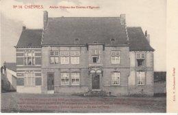 Chièvres -  Ancien Château Des Comtes D' Egmont - état Voir Scan - Chièvres