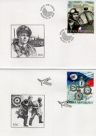 Czech Republic - 2019 - Czechoslovak Fighters In Royal Air Forces - FDC (first Day Cover) Set - FDC