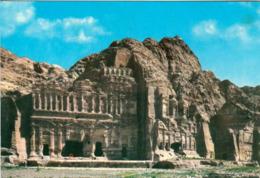 1 AK Jordanien Jordan * Gräber Der Nabatäer In Der Antiken Stadt Petra - Seit 1985 UNESCO Weltkulturerbe * - Jordanien