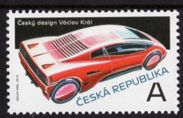 Czech Republic - 2019 - Czech Design - Václav Král - Mint Stamp - Nuovi