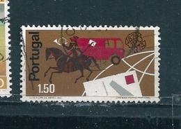 N° 1228 Centenaire De L'U.P.U. Portugal   Timbre  Oblitéré 1974 - 1910-... République