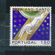 N° 1258 Année Sainte  Timbre Portugal 1975 Oblitéré - 1910-... République