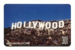 Telecarte Prépayée °_ MCI Worldcom-Hollywood 30 Mn- R/V 806 - Autres