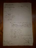 1869 FERRARA DEMANIO TASSE E AFFARI UFFICIO SUCCESSIONI - RICHIESTA ROGITI - Decrees & Laws