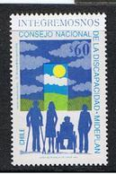 CILE:  1992  INTEGRAZIONE  -  60 P. POLICROMO  N. -  YV/TELL. 1112 - Cile