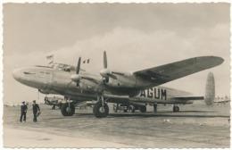 """Quadrimoteur """"Lancaster"""" De La Cie Anglaise """"B.S.A.A."""" - Le Bourget - 1946-....: Era Moderna"""
