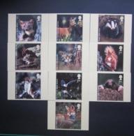 2004 WOODLAND ANIMALS STAMPS P.H.Q. CARDS UNUSED, ISSUE No. 268 - 1952-.... (Elizabeth II)