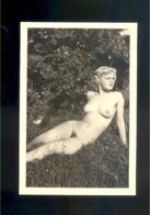 Photo Nu Nue Nude Naturisme Naturiste Naturism  9,5 X 6,5 Cm - Fine Nude Art (1941-1960)