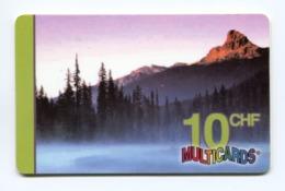Telecarte Prépayée °_ Multicards-Suisse-10 CHF- 5.000 Ex- R/V 3401 - Suiza
