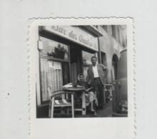 Photo Originale Bar Des Quatre As Pension Bourgeoise Montreuil Sur Mer à Identifier - Orte