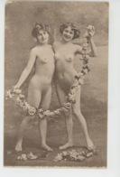 Nus - FEMMES - Portrait De Deux Femmes Nues - Desnudos Adultos (< 1960)