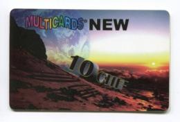 Telecarte Prépayée °_ Multicards New-Suisse-10 CHF- 10.000 Ex- R/V 73b1 - Suiza