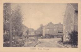 Oreye Route D'Otrange Circulée En 1925 - Oreye