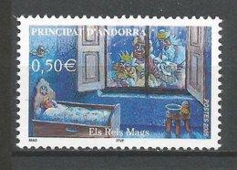 ANDORRE 2005 N° 604 NEUF** - French Andorra