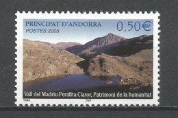 ANDORRE 2005 N° 605 NEUF** - Andorra Francese