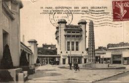 PARIS EXPOSITION DES ARTS DECORATIFS  TOUR DE BORDEAUX ET DU SUD OUEST - Exhibitions