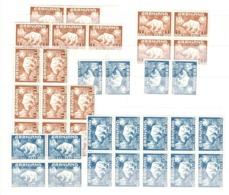 Groenland YT N° 7 (18) Et N° 9 (18),  Timbres Neufs ** MNH. TB. A Saisir! - Ungebraucht