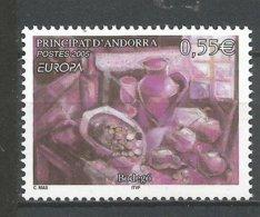 ANDORRE 2005 N° 608 NEUF** - French Andorra