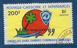 """Nle-Caledonie YT 413 """" Congrès """" 1977 Oblitéré - Neukaledonien"""