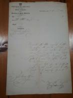 1868 - PORTO MAURIZIO - LETTERA CORPO REALE DEL GENIO CIVILE - Decrees & Laws