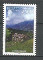 ANDORRE 2005 N° 613 NEUF** - French Andorra
